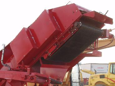 Royer 365 Soil Shredder's Shredding Belt