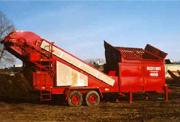 Royer 466 Soil Shredder